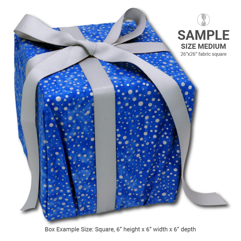 Sparkle Blue Medium Sample