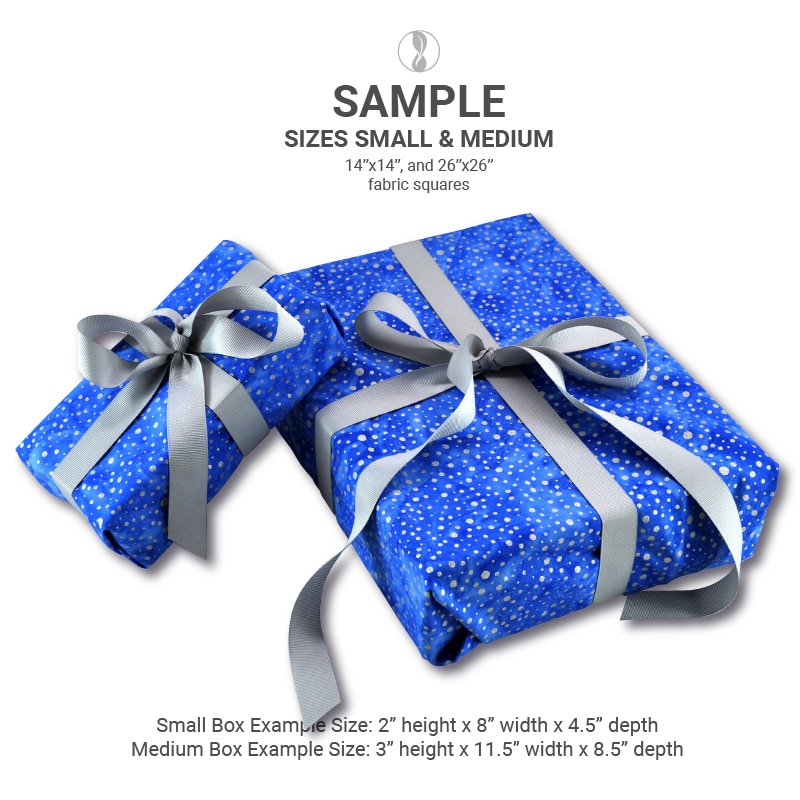 Sparkle Blue Small Medium Samples