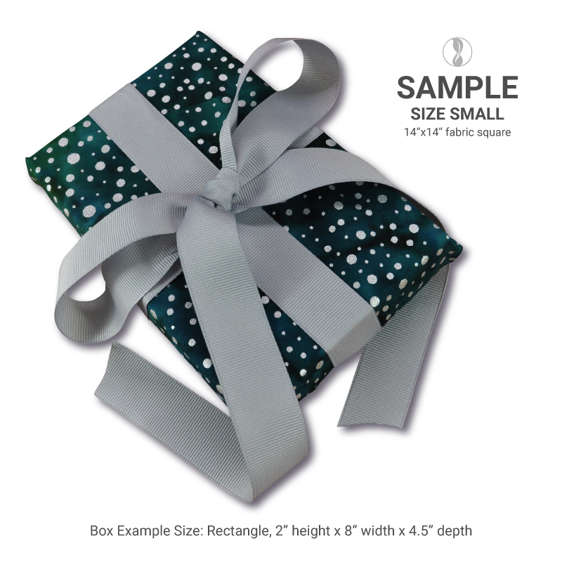 Sparkle Violet Medium Fabric Gift Wrapping