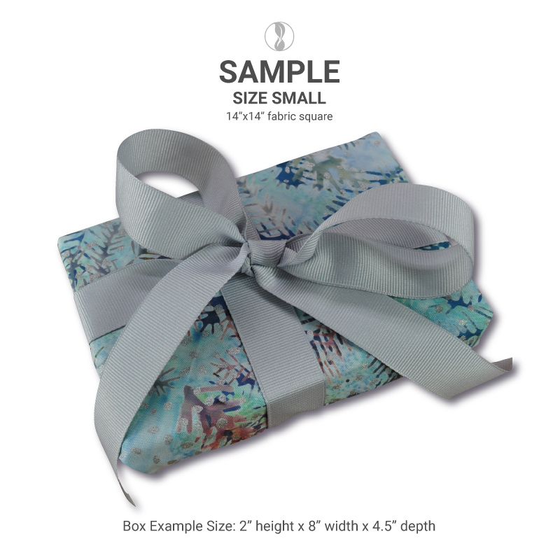 Winter Dawn Small Fabric Gift Wrapping